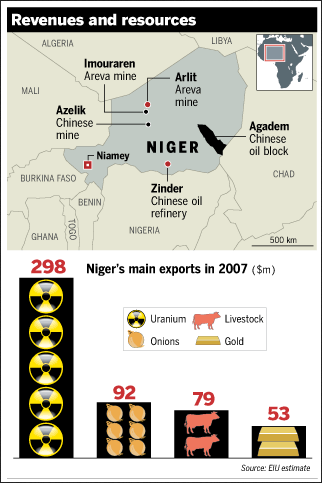Niger's Revenues And Resources